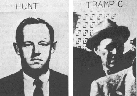 E._Howard_Hunt_&_One_of_the_Three_Tramps_Arrested_after_JFK_Assassination